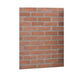 Red Brick Back Panel