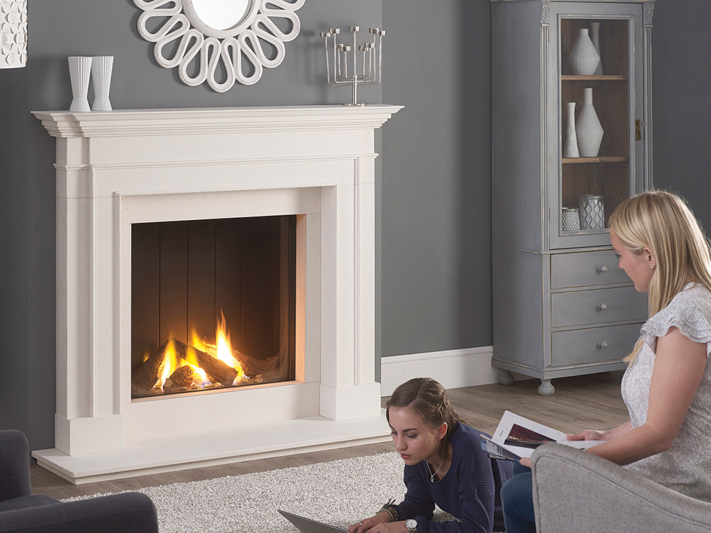 "59"" Clarence by Capital Fireplaces"