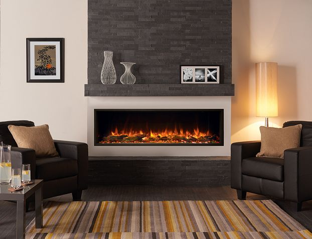 Gazco E-Reflex 135R Inset Electric Fire