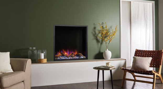 Gazco E-Reflex 75R Inset Electric Fire