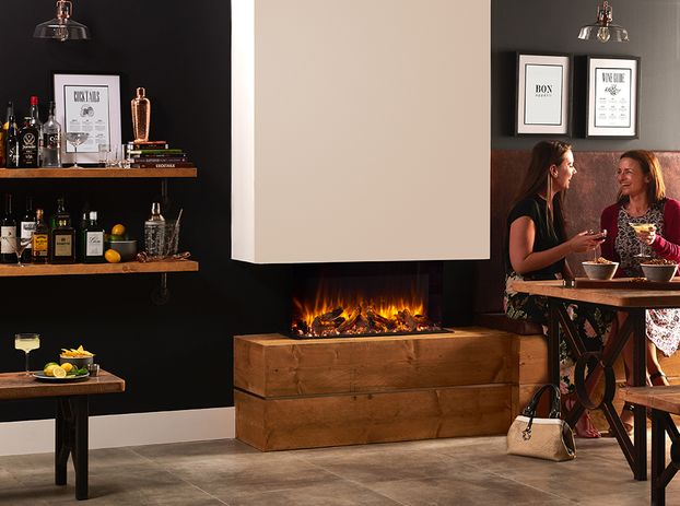 Gazco E-Reflex 70W Outset Electric Fire