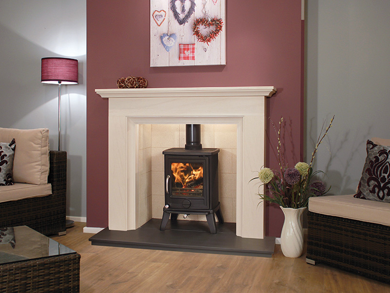 Alcudia Limestone Package Deal by Newman Fireplaces