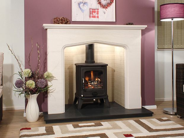 Calvia Limestone Package Deal by Newman Fireplaces